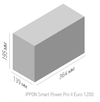 Ippon -  Линейно-интерактивный ИБП SMART POWER PRO II EURO 1200/1600/2200