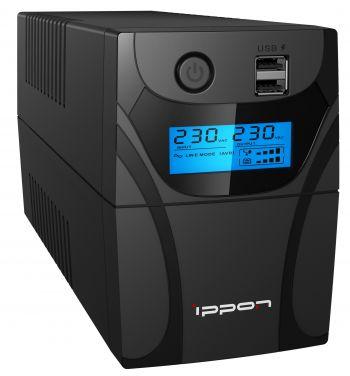 Ippon - Источник бесперебойного питания Линейно-интерактивный ИБП Back Power Pro II 500/600/700/800