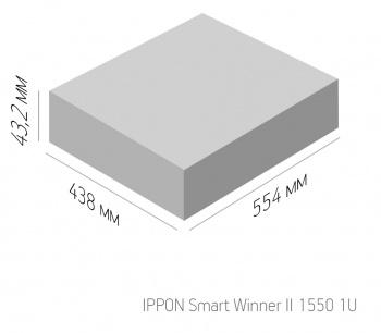 Ippon - Источник бесперебойного питания Smart Winner 1550