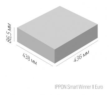 Ippon -  Линейно-интерактивный ИБП Smart Winner II Euro