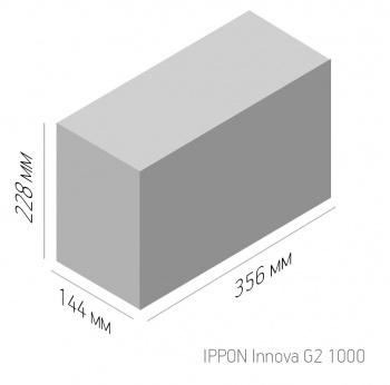 Онлайн ИБП IPPON G2 1-3 КВА с двойным преобразованием