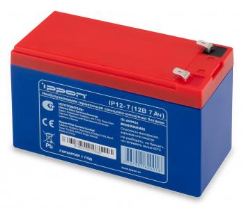 Ippon - Батарея для источников бесперебойного питания Аккумуляторная батарея IP 12-7