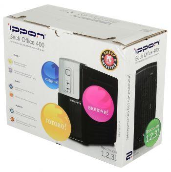 Ippon - Источник бесперебойного питания Резервный ИБП Back Office 400/600/1000