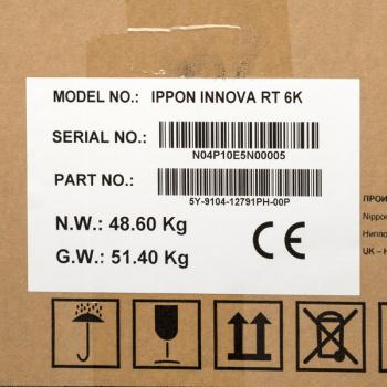Ippon - Источник бесперебойного питания Онлайн ИБП Innova RT 6/10